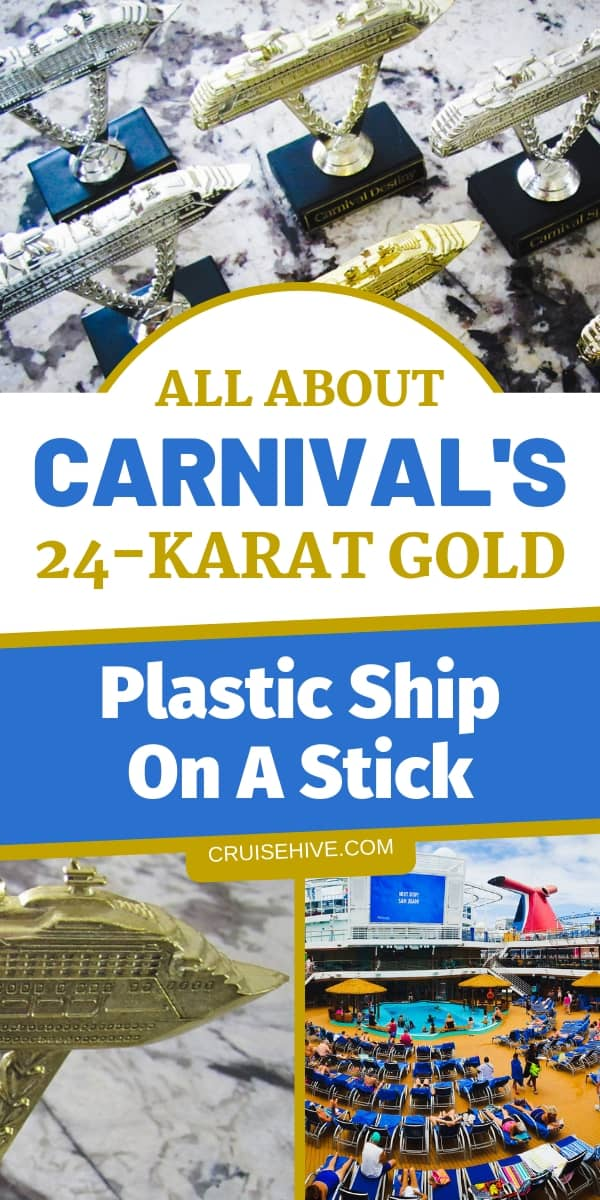 If you're familiar with Carnival Cruise Line then here's everything to know about the famous Plastic Ship on a Stick for your cruise vacation.