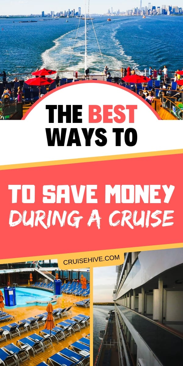 Save money tips during a cruise vacation. Follow these best ways on what you can do to keep more money in your pocket!