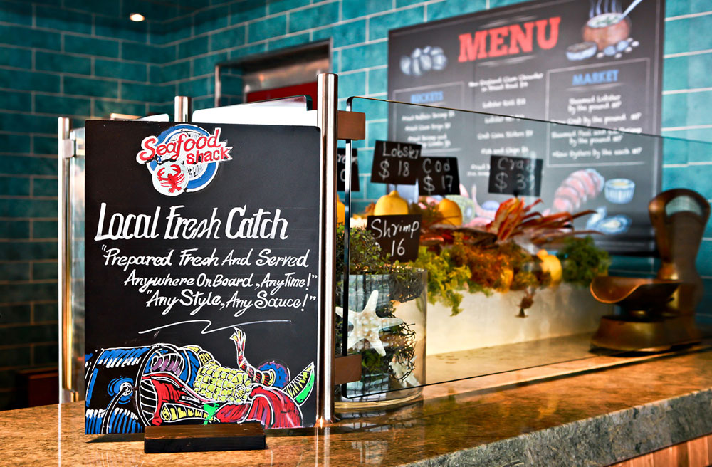 Seafood Shack Added To 7 Carnival Cruise Ships