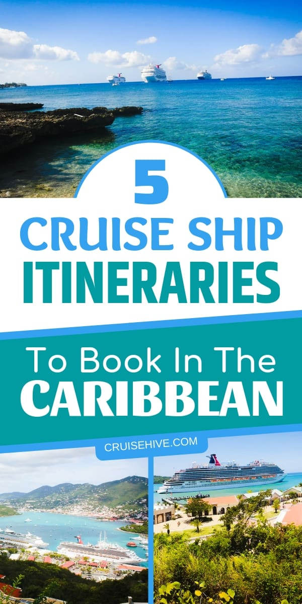 Here are five types of Caribbean cruise itineraries you should book for your Caribbean vacation. Covering the cruise line private islands and travel destinations.