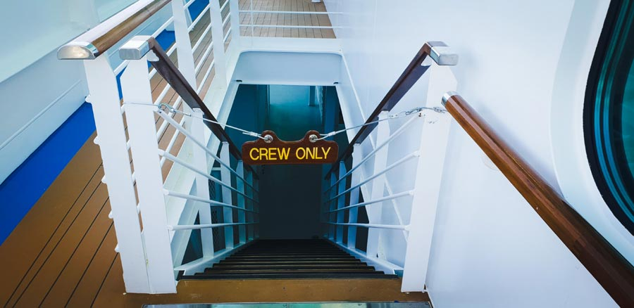 Places On A Carnival Cruise Ship For Crew Members Only