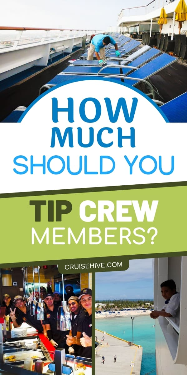 For a cruise vacation, it's important to tip the crew members on the cruise ship, follow these cruise tips on how much.
