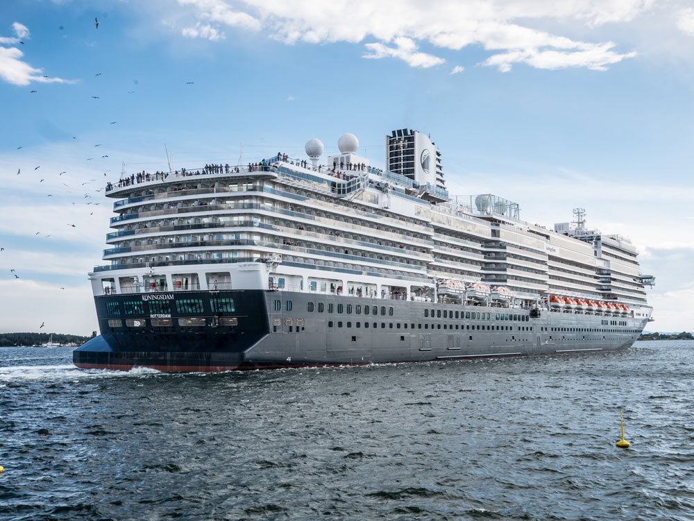 Holland America S Newest Cruise Ship Gets Perfect