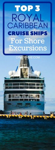 Thinking of booking a cruise vacation? You might want to check the best Royal Caribbean cruise ships for shore excursions first.