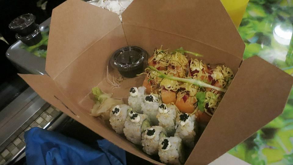 Sushi At Sea