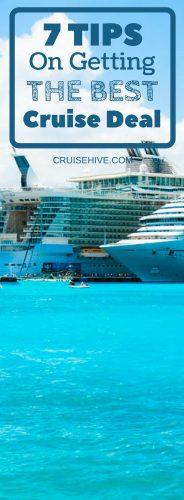 Finding the right ship, itinerary, package, and cabin at the best price is essential so here are tips on getting the best cruise deal.