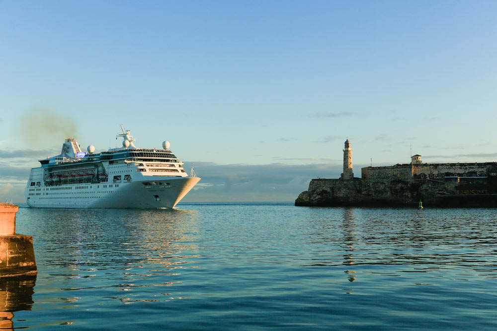 Royal Caribbean Cruise Ship Completes First Visit To Cuba