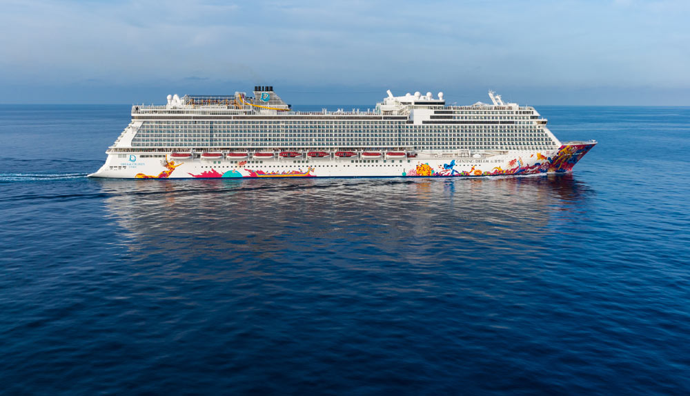 Dream Cruises First Ever Ship Sails Maiden Voyage To Japan