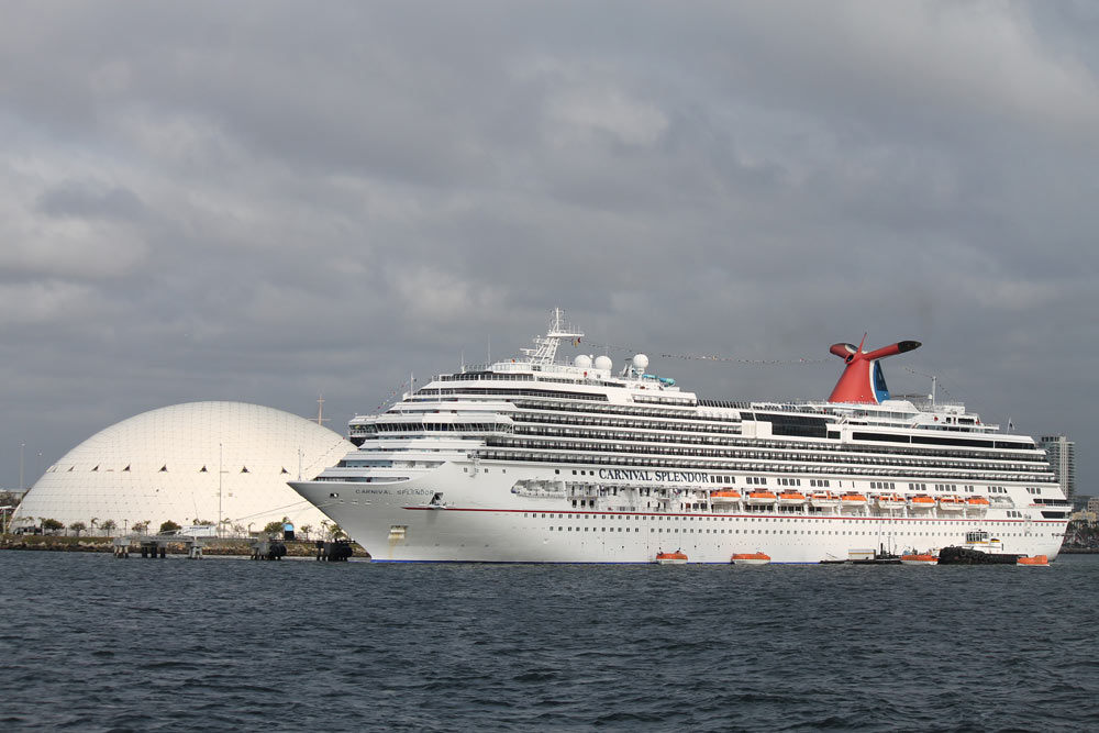 Work Begins On Carnival Cruise Line Long Beach Terminal Expansion - Long beach cruise ship schedule