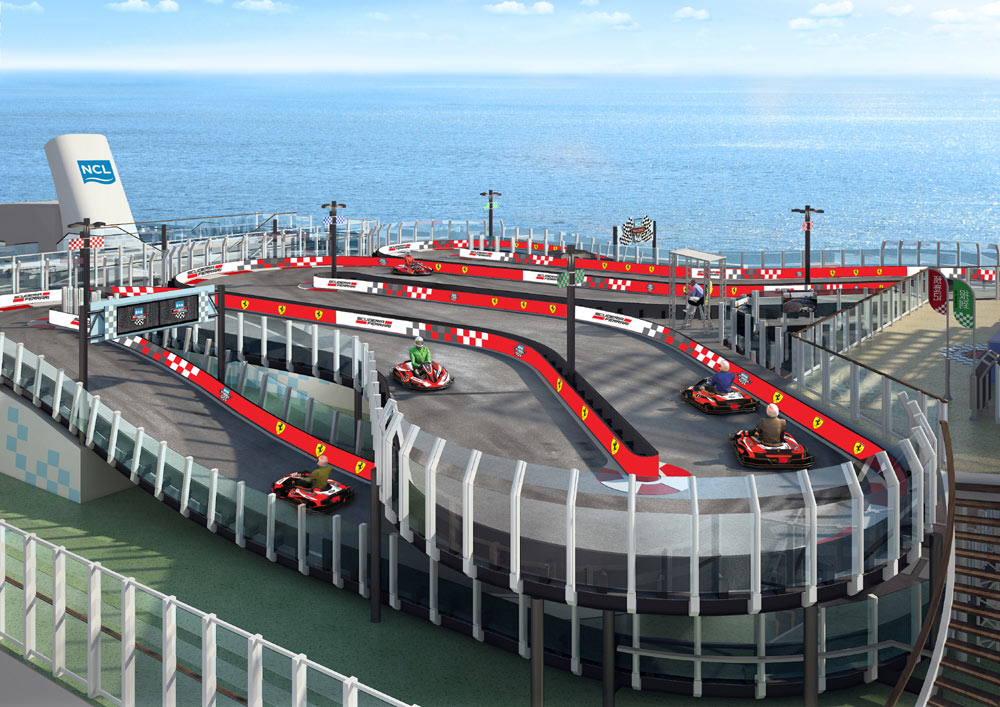Race Track At Sea
