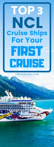 If you're traveling with kids, or like non-stop parties, or appreciate a laid-back atmosphere, Norwegian Cruise Line has 3 top-rated ships for your first cruise.