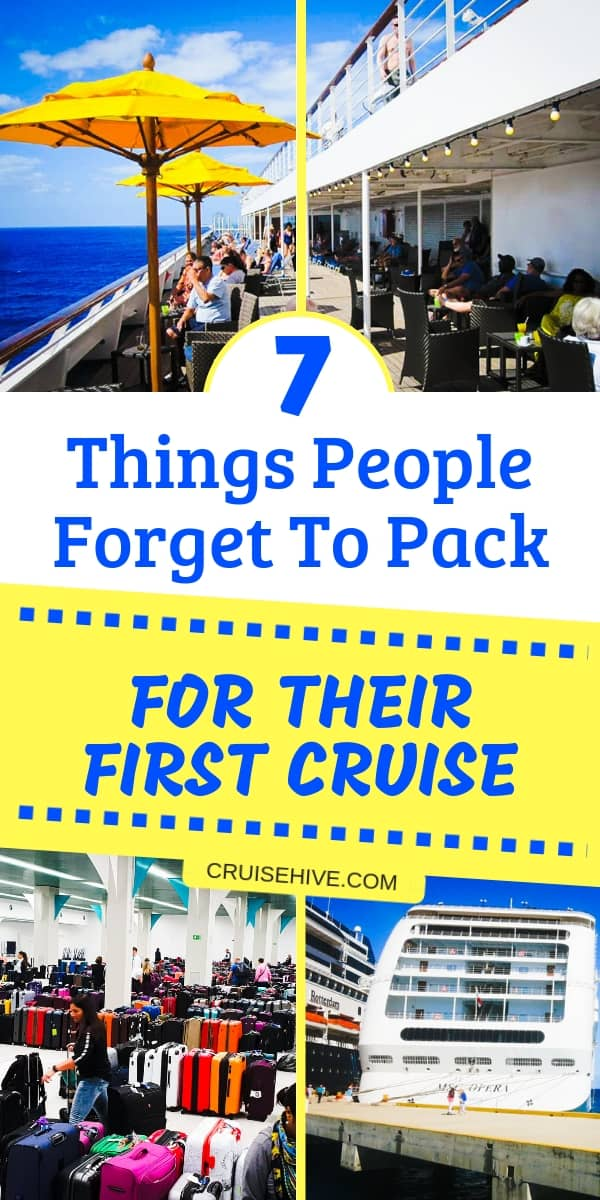 Cruise packing tips for newbies. Tips on what to pack to make sure you're fully prepared for a vacation at sea.