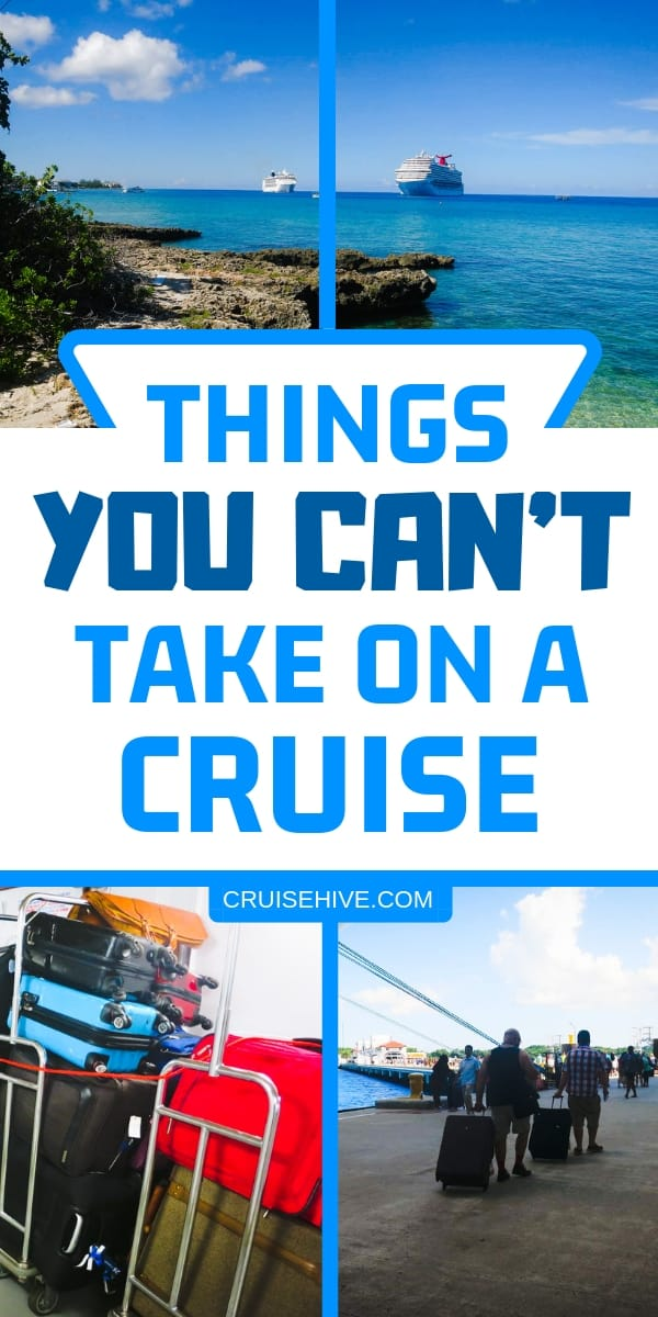 Packing List tips for your cruise vacation to make sure you don't pack any of these things. Cruise packing tips to make sure you're fully prepared.