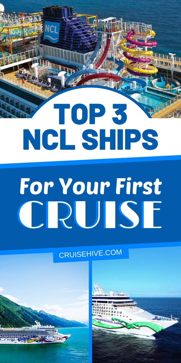 These are the top three Norwegian Cruise Line ships which you should book for your very first cruise vacation. Handy travel tips for NCL.