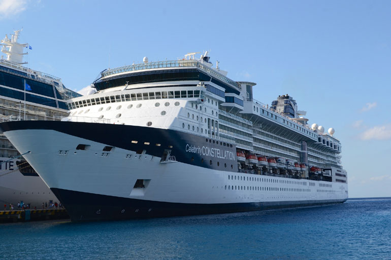 Celebrity Constellation in Port