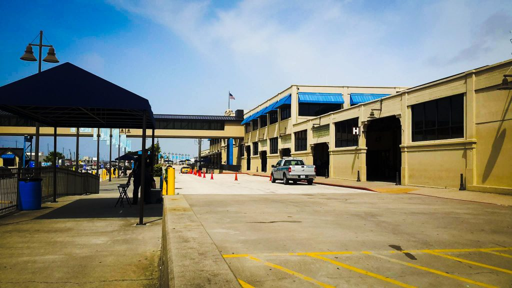 Port of Galveston Cruise Terminal