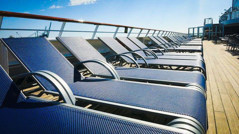 Cruise Deck Chairs