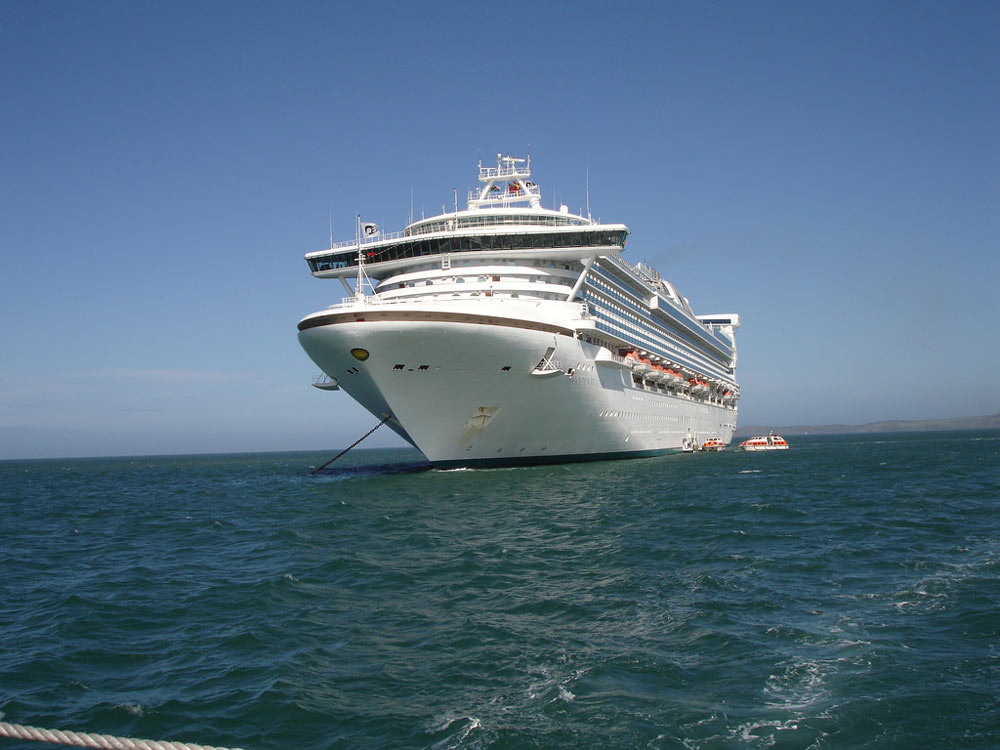 Man overboard off Sydney-bound cruise ship
