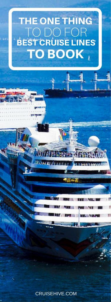 Best Cruise Lines To Book