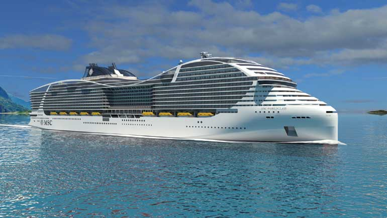 MSC Cruises World Class Rendering