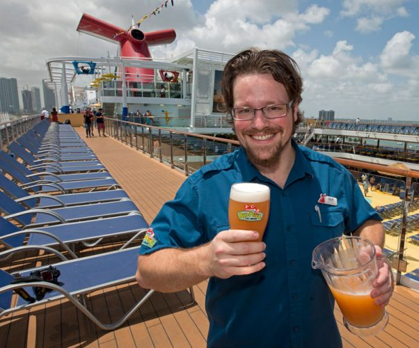 New Beer on Carnival Vista