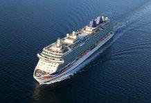 P&O Britannia Cruise Ship