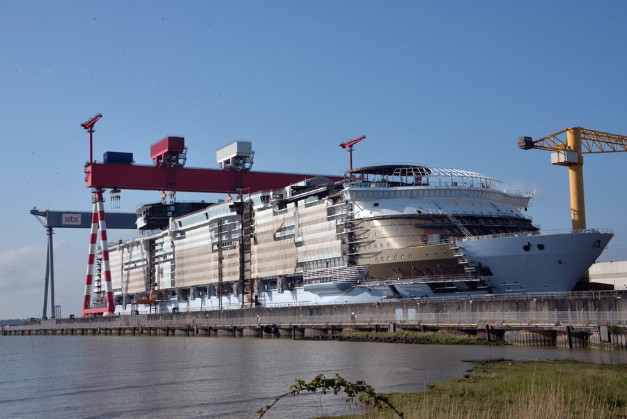Image result for symphony of the Seas float out