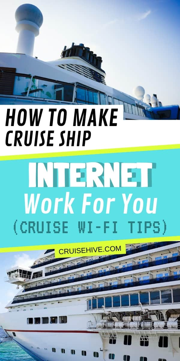 Here's a travel guide on how to make cruise ship internet work for you. Covering internet plans and packages along with tips to access during the voyage.