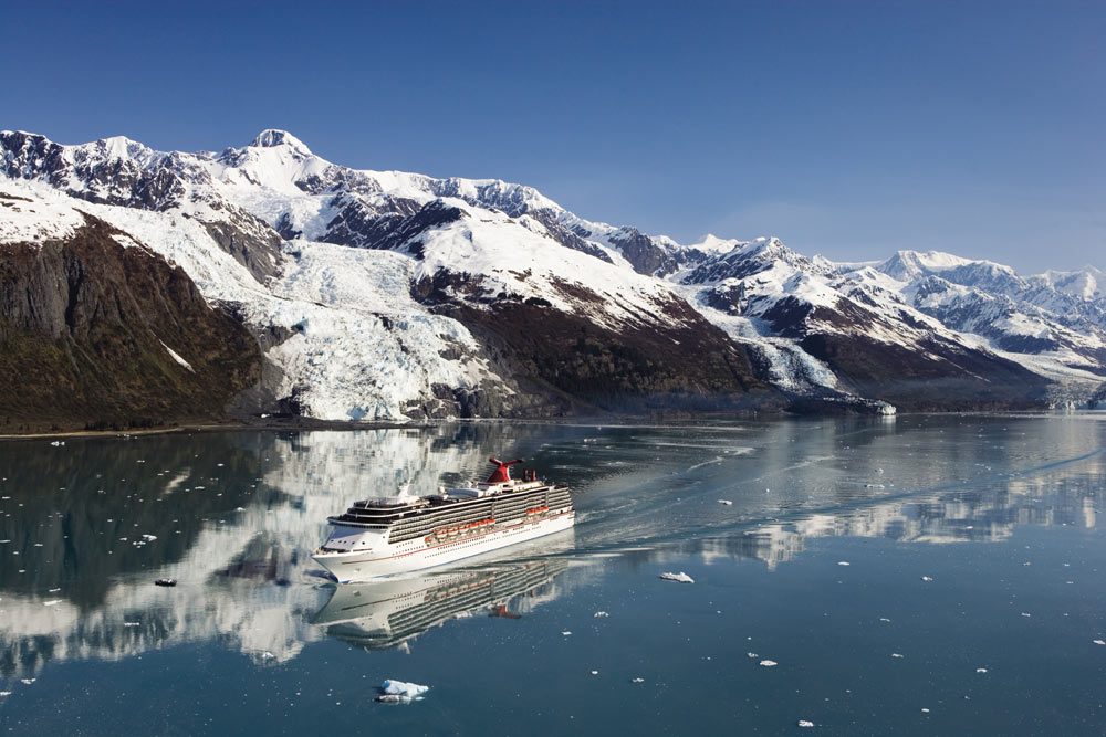 Carnival Legend In Alaska