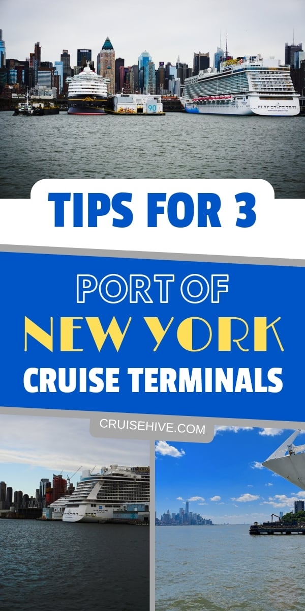 New York travel tips for taking a cruise vacation out of the port.