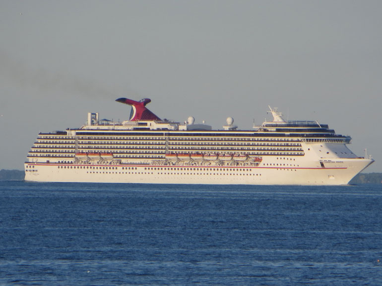 Carnival Cruise Ship Delayed Due To Medevac - Cruise ship delayed
