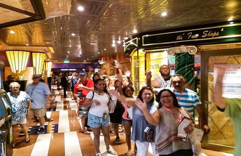 Carnival Cruise Line Passengers
