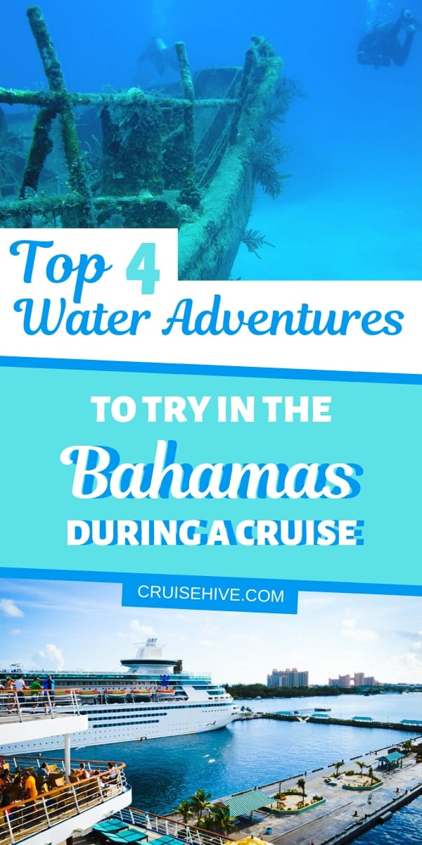 If you're on a cruise vacation which includes a call to Nassau, Bahamas then these four water shore excursions might be good for you.