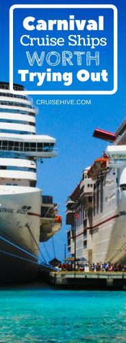 We delve into the Carnival Cruise Ships which are worth taking a cruise vacation on. Tips to take note of before booking with Carnival Cruise Line.