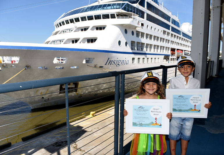 Oceania Cruises, Young Cruisers