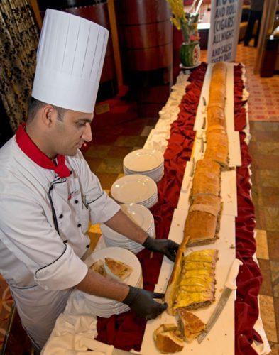 Carnival Paradise, Cuban Sandwich