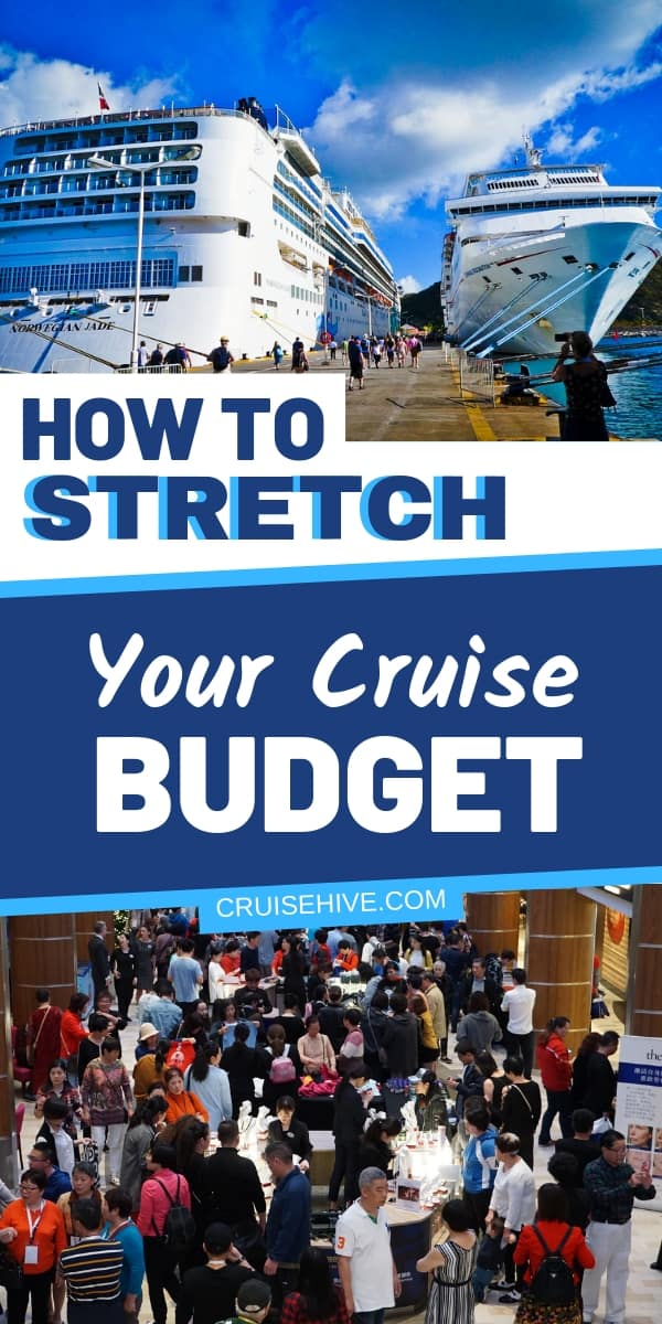 Find out how to stretch your travel budget for a cruise vacation. Ways to save money and spending tips.