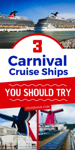 If your planning a cruise vacation soon then here are 3 Carnival cruise ships worth thinking about traveling on. We've got some cruise tips and details about the ships.