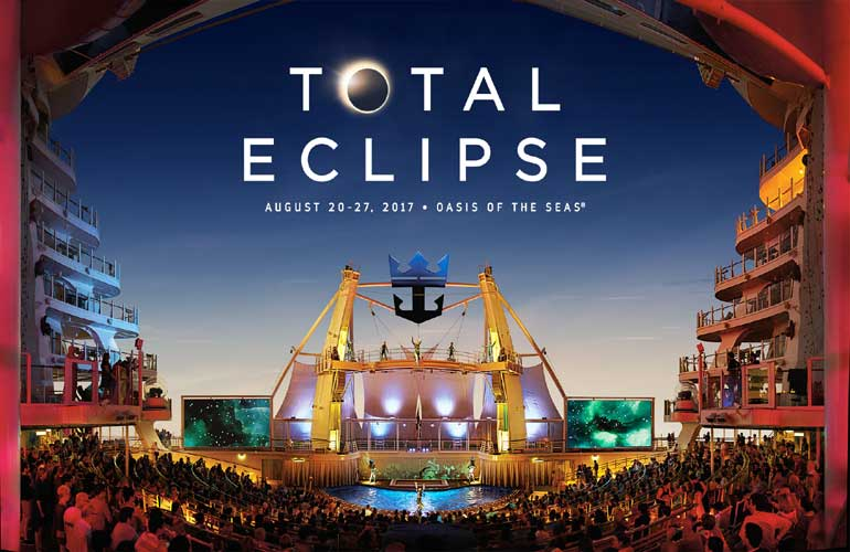 Total Eclipse Royal Caribbean Cruise