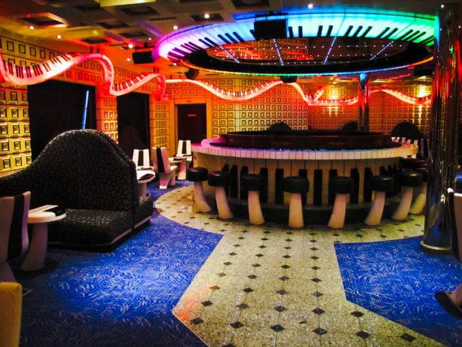 Carnival Liberty Piano Bar