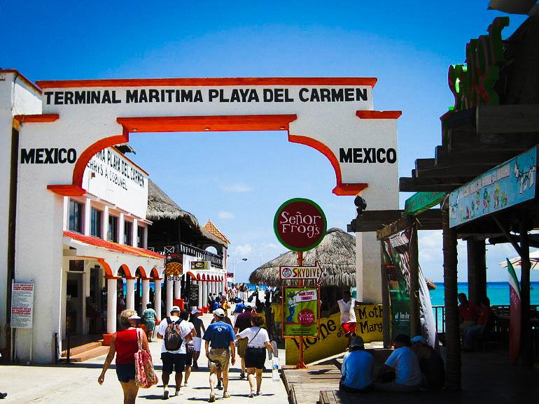 Play Del Carmen Ferry Pier