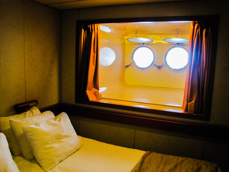 Cruise Ship Porthole Cabin