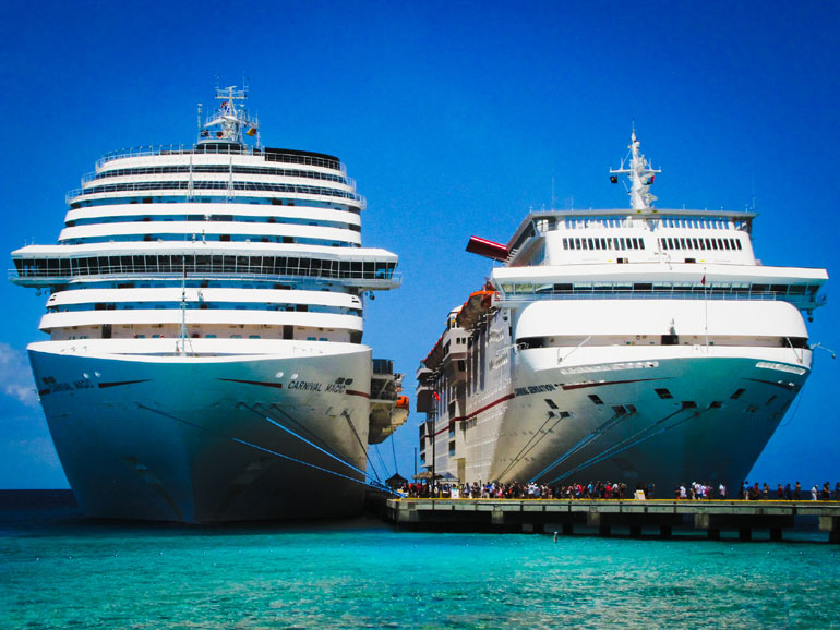 Carnival Cruise Ships Side by Side