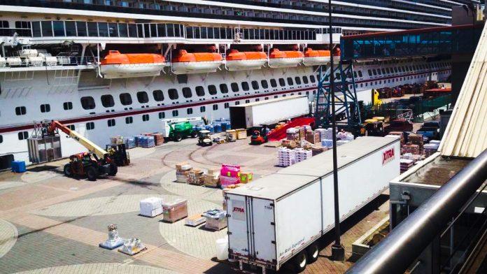 Cruise Ship Loading