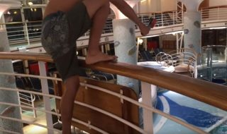 Boy Jumps Into Cruise Ship Pool