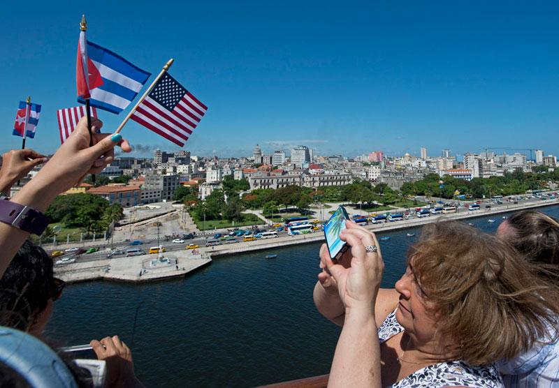 Carnival Paradise Arrives In Havana Cuba For The Very