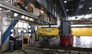 Third Vista Class Ship Steel Cutting