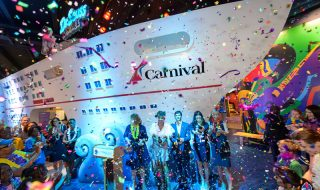 Renovated Carnival Cruise Line Space
