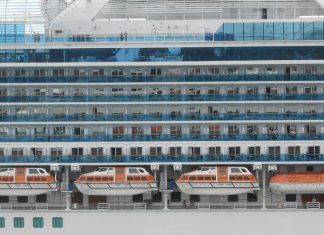 Emerald Princess in Port