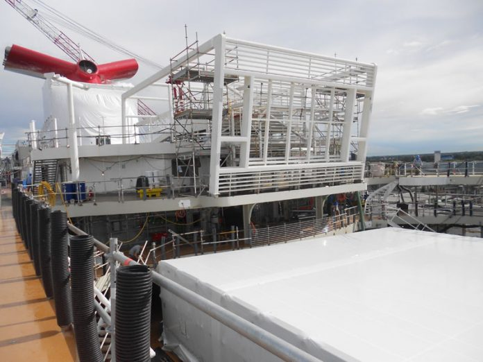 Carnival Horizon Construction View
